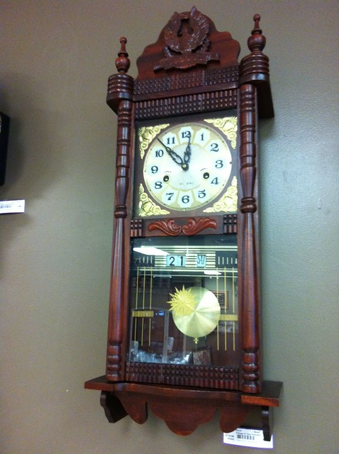 vintage 31 day wall clock flickr photo sharing