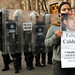 Protesta del MPJD el 24 de Febrero en la ceremonia de izamiento de bandera encabezada por calderón by Eneas
