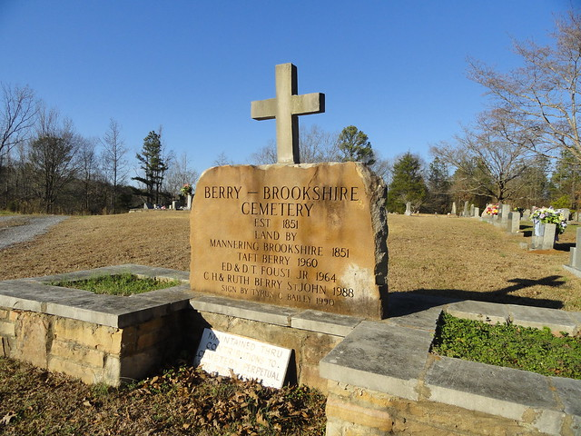 Berry-Brookshire Cemetery, Marshall County, AL
