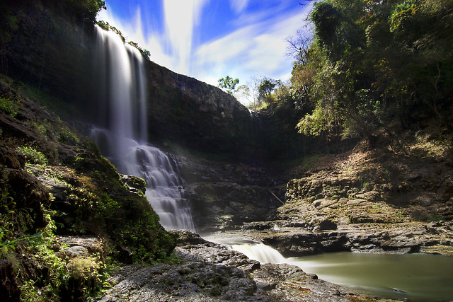 Busra Waterfall of Modulkiri