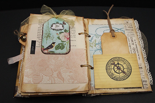 Vintage Book Cover Tutorial : Whimsical ideas vintage altered book with simple