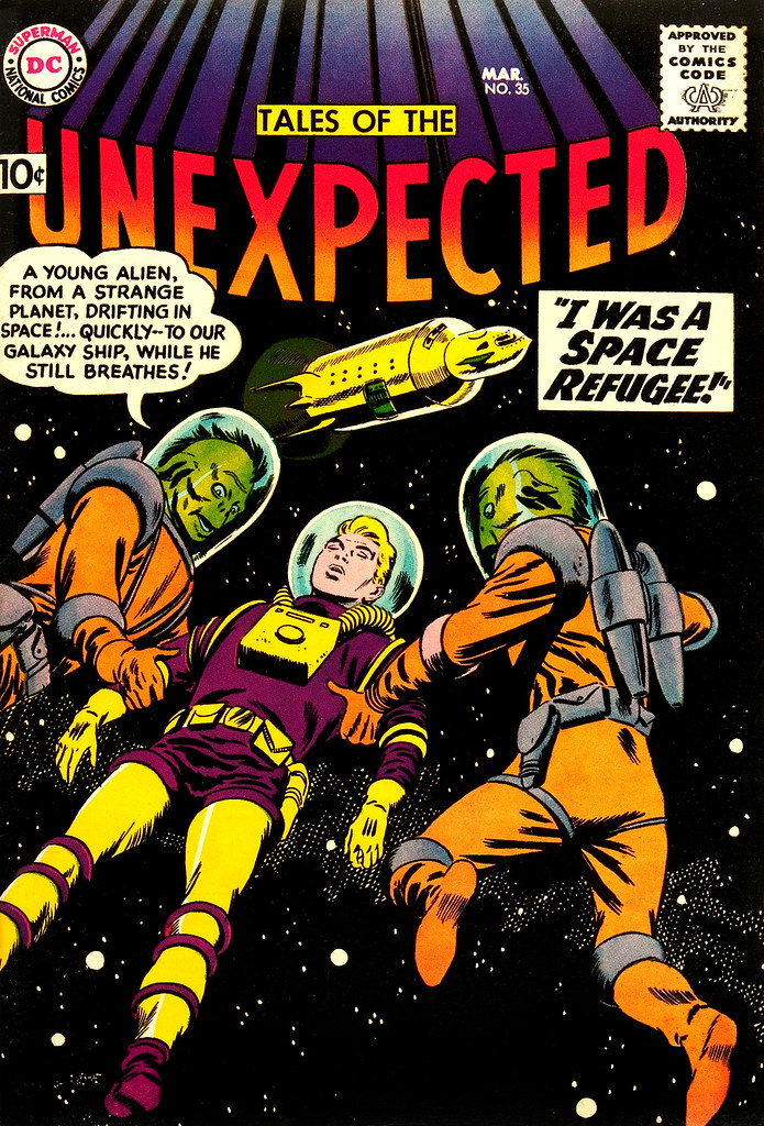 Tales of the Unexpected #35 (DC, 1959) Bob Brown cover