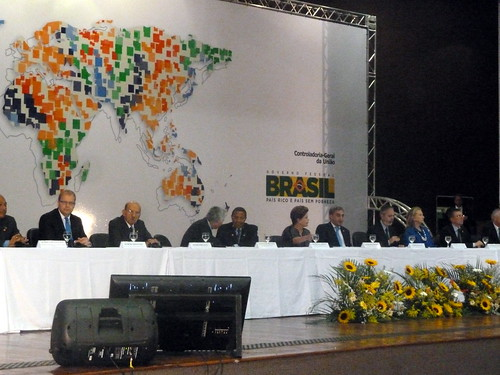 Välisminister Urmas Paet Brasilias Avatud valitsemise partnerluse (Open Government Partnership, OGP) kõrgetasemelisel kohtumisel, 17. aprill 2012
