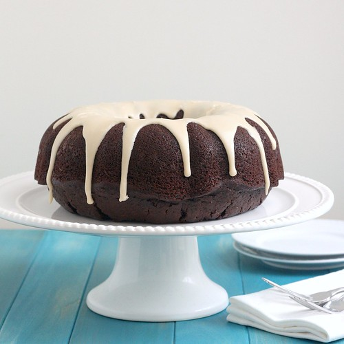 Sourdough Chocolate Bundt Cake
