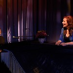 Jeffrey Harris and Maureen McGovern in the world premiere musical memoir A LONG AND WINDING ROAD at the Huntington Theatre Company's Calderwood Pavilion at the BCA. Part of the 2009-2010 season. Photo: Eric Antoniou
