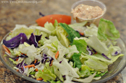 Dinner Salad at Fishtale Grill ~ New Prague, MN