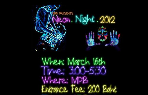 Neon Night Social