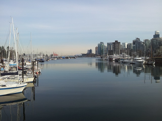 Afternoon Run on the Coal Harbour Seawall