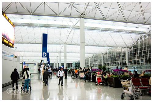 HKIA departure