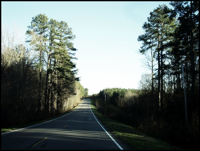 country road near cameron nc