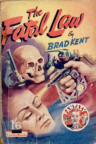 Curtis Book _ The Fatal Law _  by uk vintage