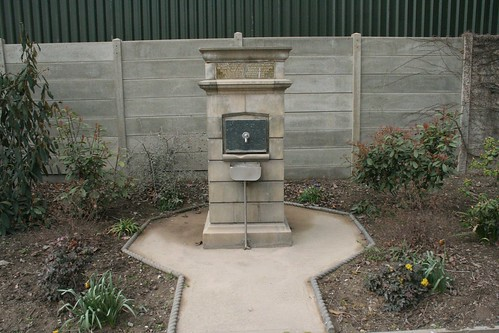 Memorial water fountain