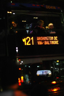The Night Bus To DC