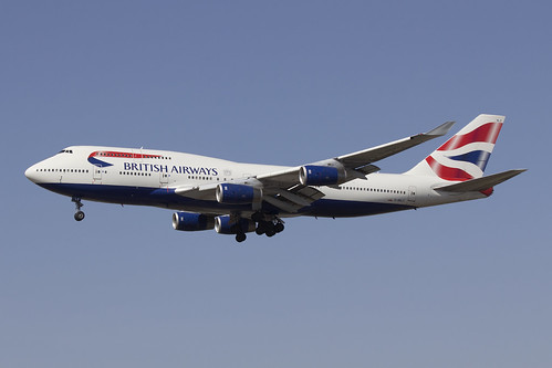 British Airways G-BNLZ