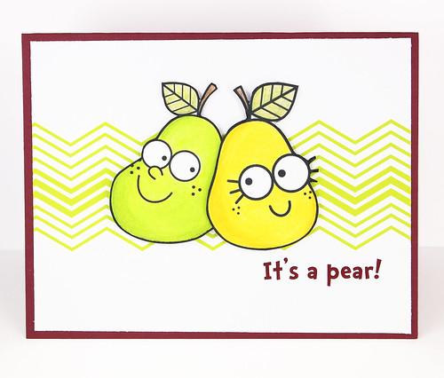 It's a Pear!
