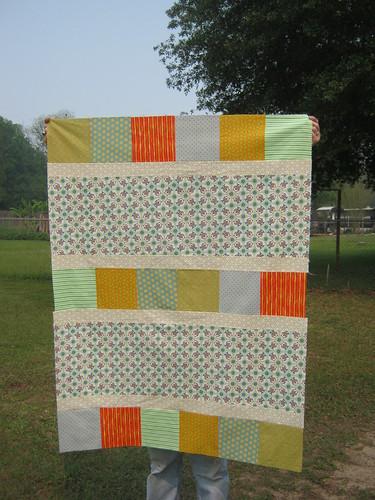 Baby Quilt Top 2