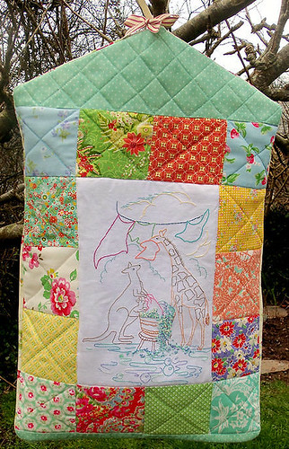 Quilted Laundry Bag