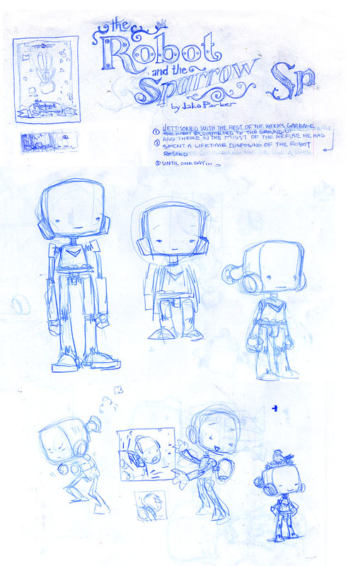 Robot Concept Sketches