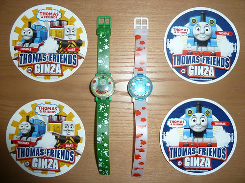 THOMAS & FRIENDS in GINZAでもらったもの