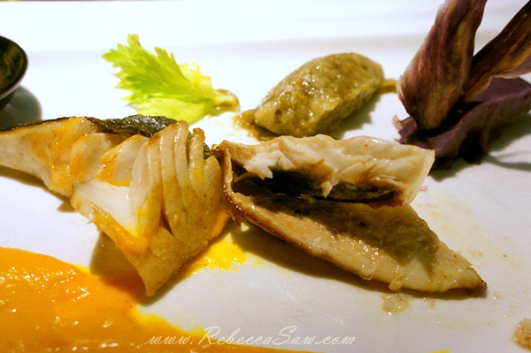 tanjong jara resort - Chef Florent Passard-mirror fish