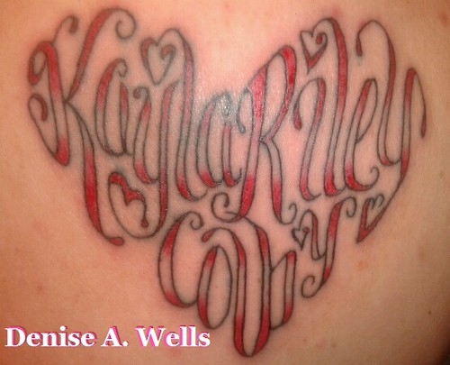 Kayla Riley Colby Tattoo Design by Denise A. Wells