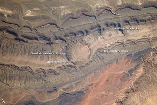 Ouarkziz Impact Crater, Algeria