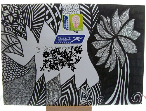 mail art 365-059 front by Miss Thundercat