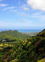 Pali Lookout by bpalaith