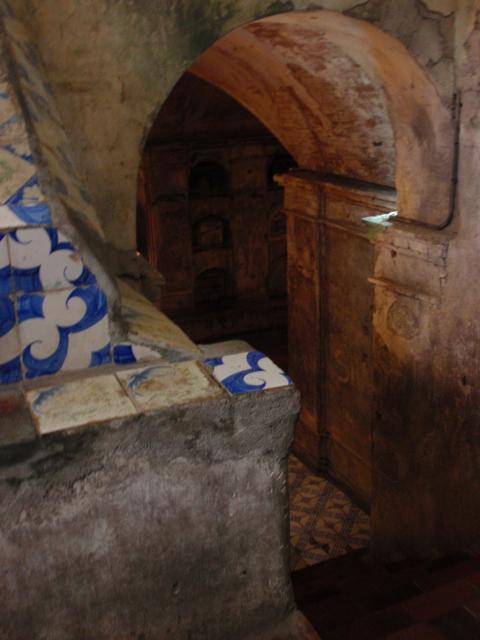 Nagcarlan chapel crypt