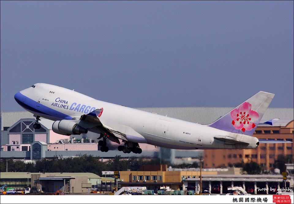 中華航空B-18711貨機007