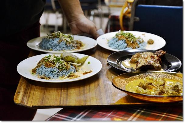 Nasi Kerabu & Ayam Percik @ Yati Ayam Percik