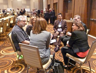One of the sit-down groups, Open Space, Trusted Advisors, ACMP 2012