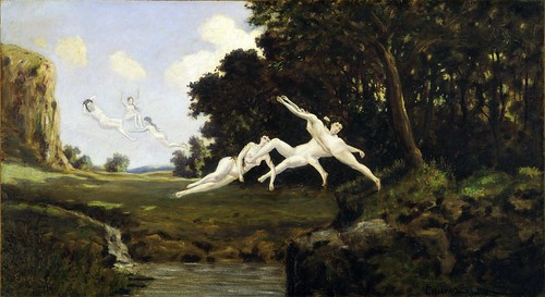 Louis Michel Eilshemius - Afternoon Wind [1899] by Gandalf's Gallery