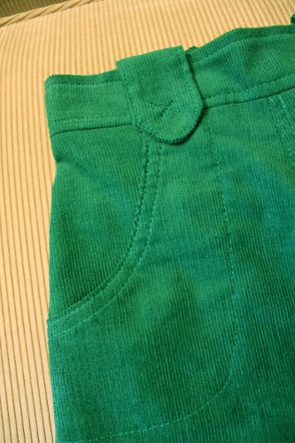nowhere pants - front detail