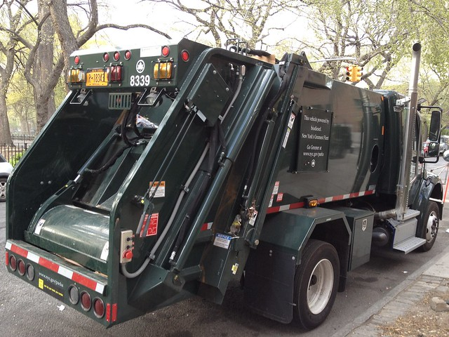 nyc garbage truck
