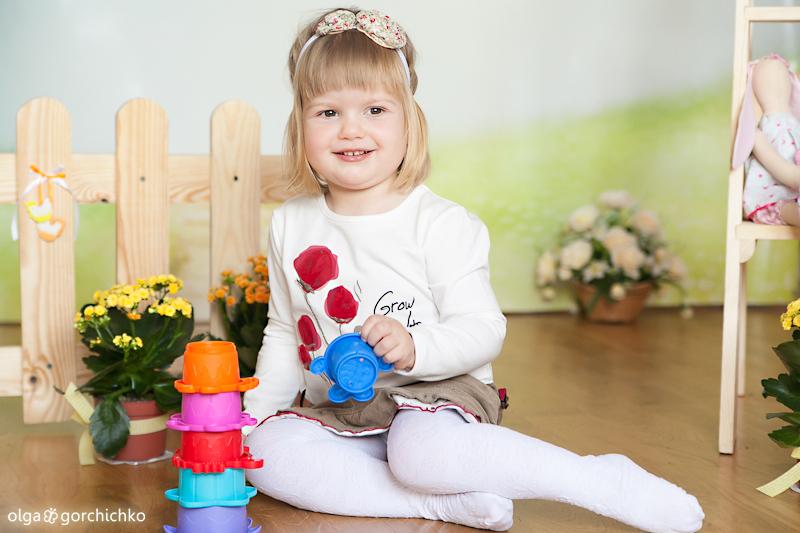 Детский фотопроект Прикосновение весны