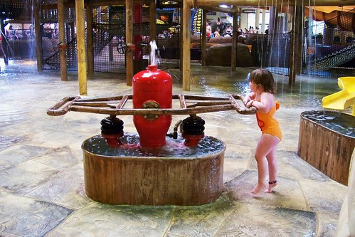Lucy at Great Wolf Lodge