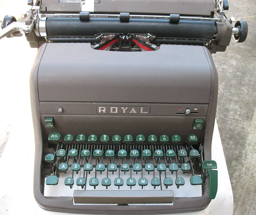 Royal HH Typewriter, 1956