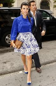 Kourtney Kardashian Cap Toe Heels Celebrity Styling Fashion