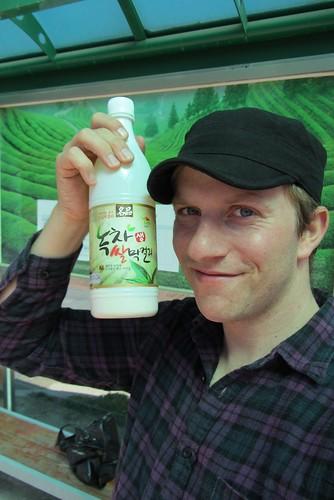 Green Tea Makkoli!