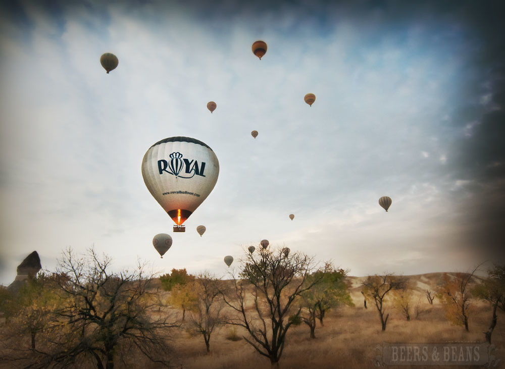 Royal Balloon Ride through Cappadocia, Turkey