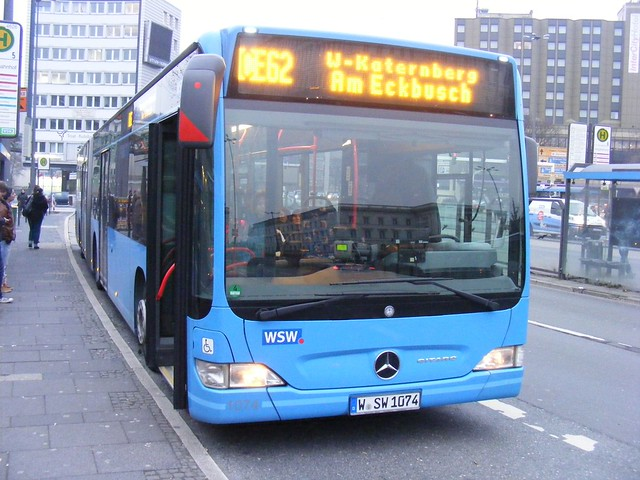 mercedes citaro w sw 1074 of wsw wuppertal jan 2012 flickr photo sharing. Black Bedroom Furniture Sets. Home Design Ideas