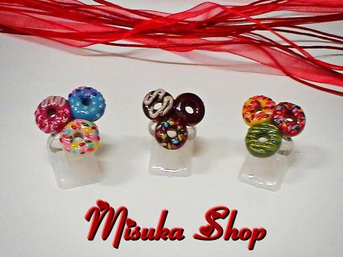 Miniaturas de Dunkin' Donut