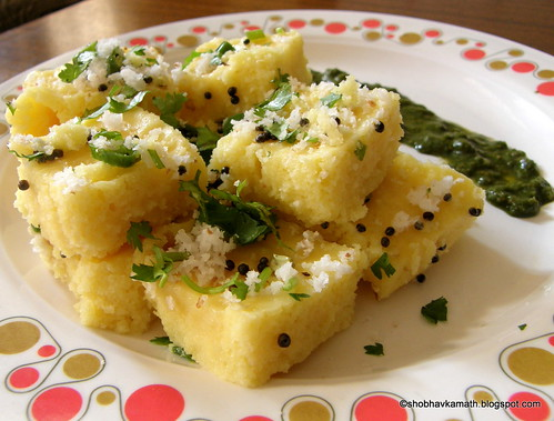 Instant Dhoklas