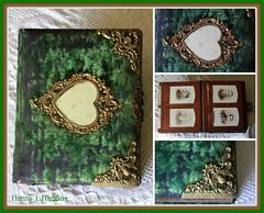 Green Velvet Photo Album