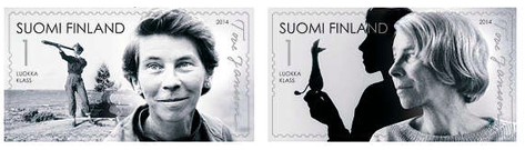 Tove Jansson Stamps