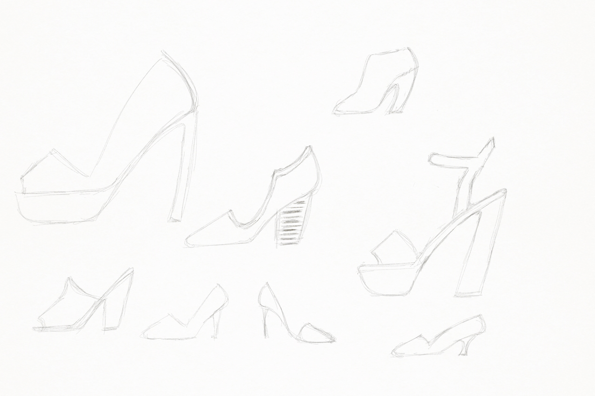 Shoe Sketches page3