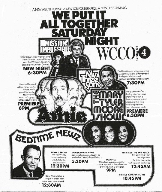WCCO-TV ad, September 19, 1970