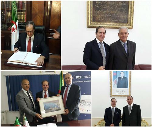 Promoción de imagen, comercio y cultura de México en Argelia