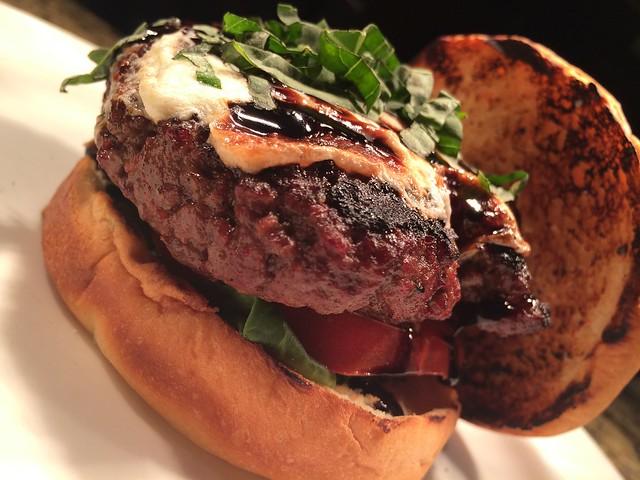Caprese Burger - 419 West